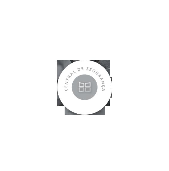 Processo em formato circular: seção central sem interação